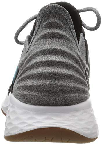 New Balance womens Fresh Foam Roav V1 Sneaker, Black/Light Aluminum, 8.5 US Hawaii