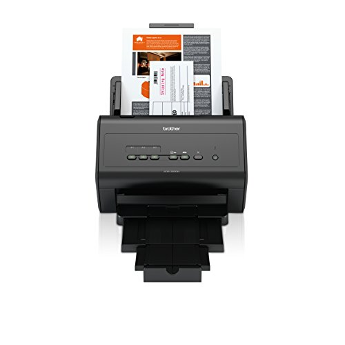 Brother ADS3000N High-Speed Network Document Scanner for Mid to Large Size Workgroups,Black