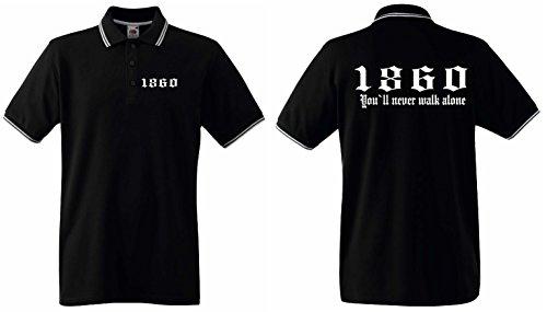 1860 Herren Retro-Polo Shirt Ultras