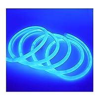 ラウンドLEDソフトランプ220V 230V 240V SMD LED 2835フレキシブルネオンチューブ120LED IP68防水ロープ文字列 ZHANGHA (Color : Blue, Size : 100m)