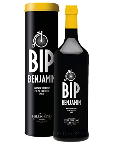 Marsala Riserva Superiore Oro Dolce DOC Bip Benjamin Pellegrino 2013 0,75 L Astucciato