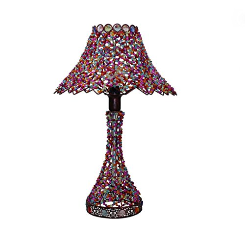 Style bohème lampe salon chambre lampe de chevet lampe à la main