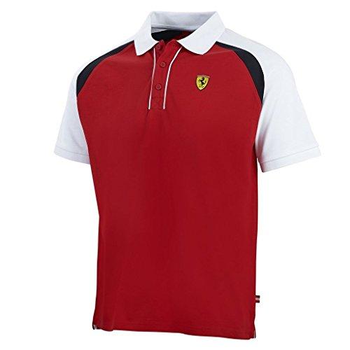 Scuderia Ferrari F1Team Herren Race Polo-Shirt rot xl rot