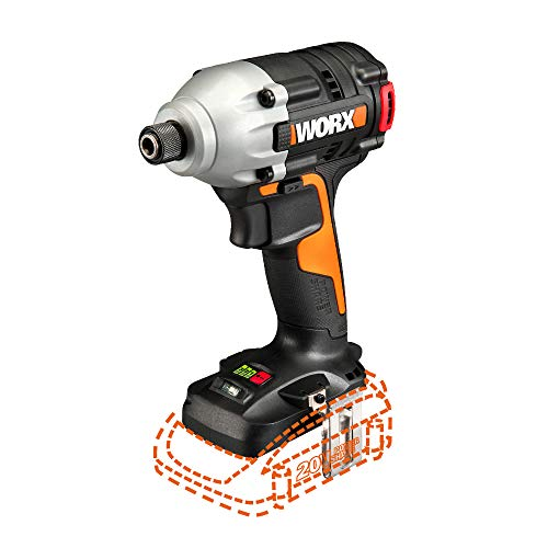 WORX WX261L.9 20V Brushless 3-speed Impact Driver, Bare Tool Only