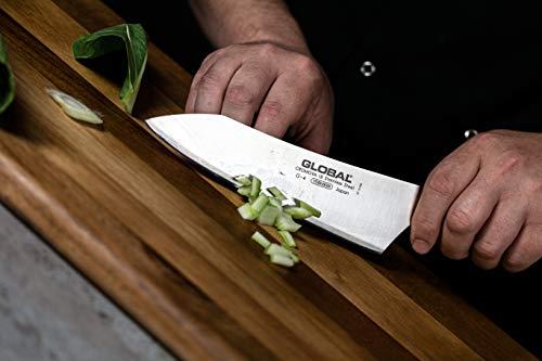 Global G-4-7 inch, 18cm Oriental Chef's Knife