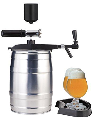 Grifo de cerveza, dispositivo profesional para barriles de 5 litros con CO2 automático y bomba de mano.