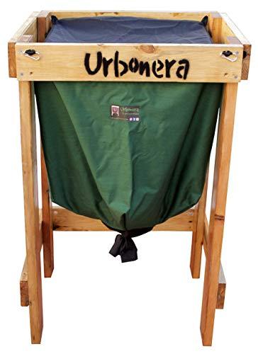 Urbonera: la abonera urbana Vermicompostador/Compostador para lombrices de 125 litros + Estructura de Madera