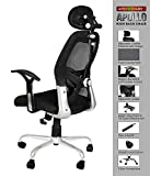 APEX Chairs™ Apollo Chrome Base HIGH Back Engineered Plastic Frame Office Chair (Apollo)