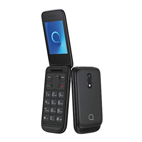 Alcatel 20.53 Telefono Cellulare da 4 MB, Fotocamera da 1.3 MP, Volcano Nero [Italia]