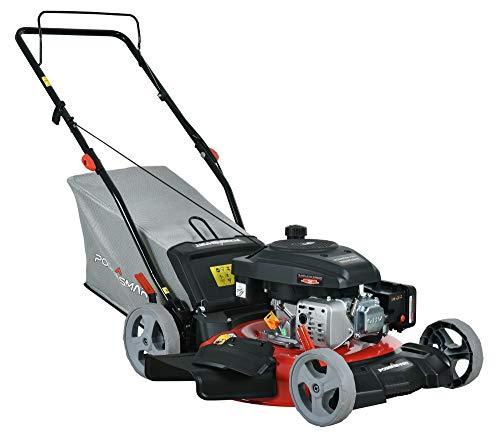 PowerSmart DB2321P Lawn Mower, Black and red