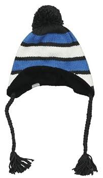 Columbia Alpine Course pour Femmes Bonnet péruvien Bleu Compass Blue/Coal/Sea Salt Taille Unique