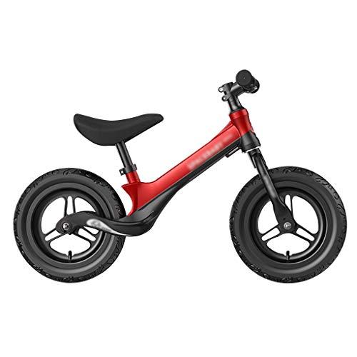 MFB Balance de Bicicletas - Niño Bicicleta de Entrenamiento for 2, 3, 4, 5 Y 6 años Niños - Bicicletas de Empuje for niños pequeños/n Pedal Vespa Bicicleta con reposapiés