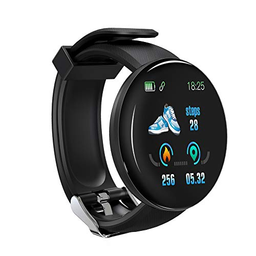 Dreamfly Smart Color Screen Watch Heart Rate Blood Pressure Health Fitness Track Sport Wristband Unisex