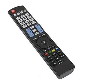 VINABTY AKB73615307 ErsatzFernbedienung für LG TV Remote Controller 32LM3400 32LM611S 37LM611S 37LS3400 42LM3400 42LM615S 47LM615S 55LM615S 55LM615S Ersatz Fernbedienung
