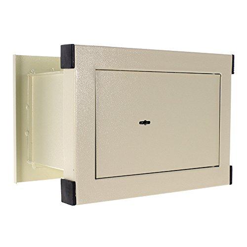 Wandtresor HomeDesignSafe HDW-26, Sicherheitsschloss, Geprüfte Einbruchsicherheit, Fachboden