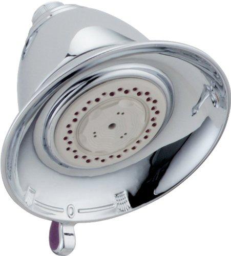 Delta Faucet 3-Spray Touch-Clean Shower Head, Chrome RP34355