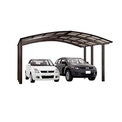 XIMAX Aluminium Design-Carport Portoforte M-Ausführung Typ 80 Mattbraun