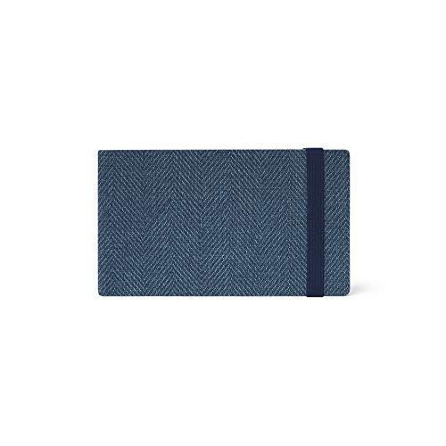 Legami Wochenplaner mit Album, 13 Monate, 2021, klein, Blue Tweed