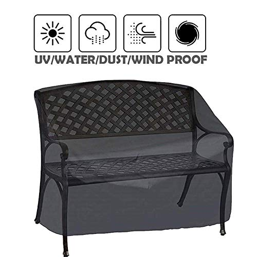 aheadad - Funda para sofá o jardín, funda para sofá o jardín, impermeable, para exterior, funda de silla de tela Oxford 190T para Bancs de 2 plazas/3 plazas/4 plazas