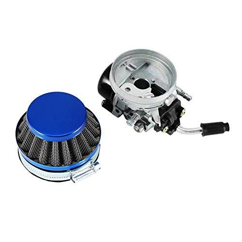 Yctze Pulitore filtro aria carburatore Bici motorizzata Carburatore Filtro aria carburatore 40-80cc Filtro carburante per bicicletta a gas Apparecchiature elettriche `Motore Generatore portatile alime