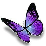 Diy 5D Diamond Painting Full Drill Set Mariposa Púrpura Hecha A Mano Pintura Digital Para Adultos Completo Crystal Rhinestone Punto Cruz Bordado Arte For Casa Decoración Q13536 Round Drill,25X25Cm
