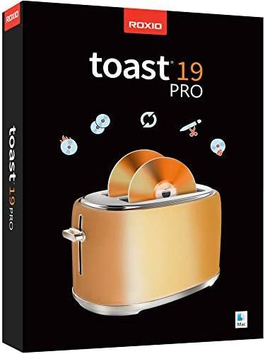 Roxio Toast 19 Pro CD DVD Blu ray Burner for Mac Disc Burning File Conversion Multimedia Editing product image