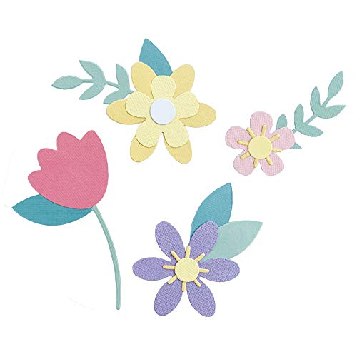 Sizzix Bigz 665101 Fustella con fiori primaverili di Jennifer Ogborn