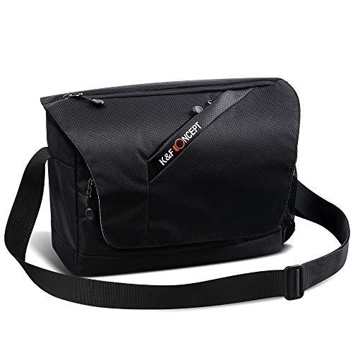 K&F Concept Messenger Bag for Canon Nikon Cameras and Lens Casual Shoulder Bag