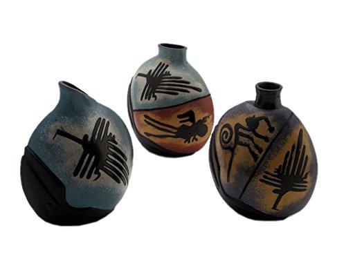 Discount Etnico - Vaso Terracotta Nazca 17 cm