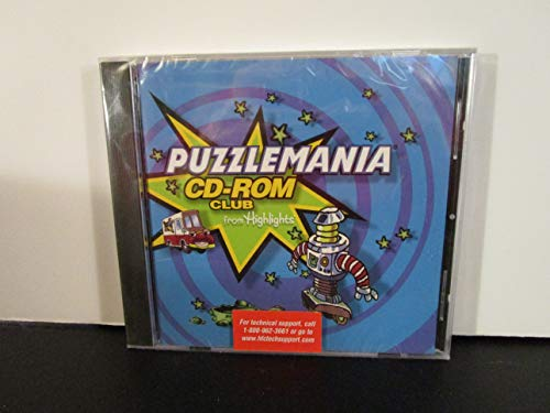 PUZZLEMANIA CD-ROM from Highlights #3158A