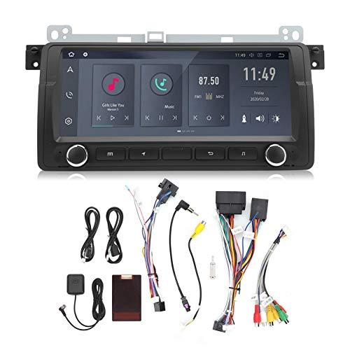 Navegación automática, reproductor multimedia WIFI GPS para coche de 8.8 pulgadas, navegación Bluetooth con función de control de dirección, compatible con E46(1+32G)
