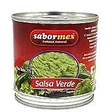 SABORMEX Salsa Mexicana Verde 215 gr Salsa típica de la Comida Mexicana