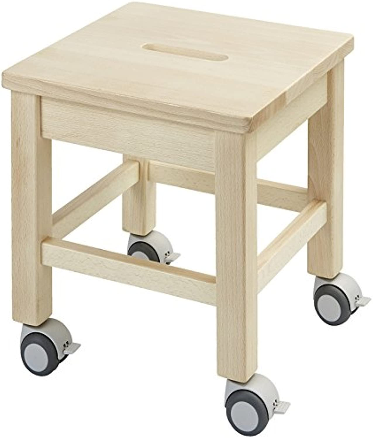 Nathan 371174 Rolling Stool, Multi color
