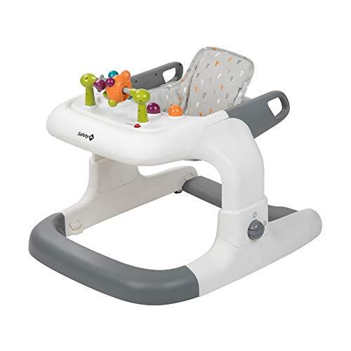 Safety 1st Kamino Trotteur bébé évolutif 3 en 1 , Musical, de 6 mois à 12kg, Warm Grey