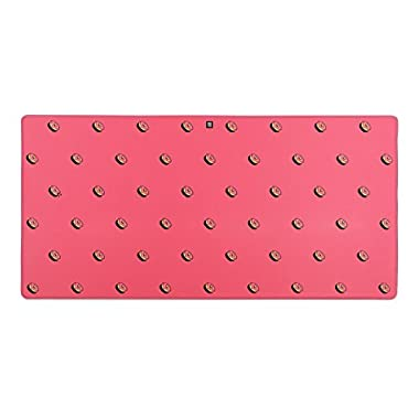 Mionix MNX-04-27003-G Desk Pad Frosting - XL Extended Mouse Pad For Gamers And Artists (35.5x17.3x0.12 Inch), Pink