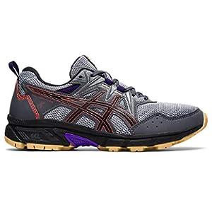 ASICS Women's Gel-Venture 8 Running Shoes, 7, Carrier Grey/RED Brick