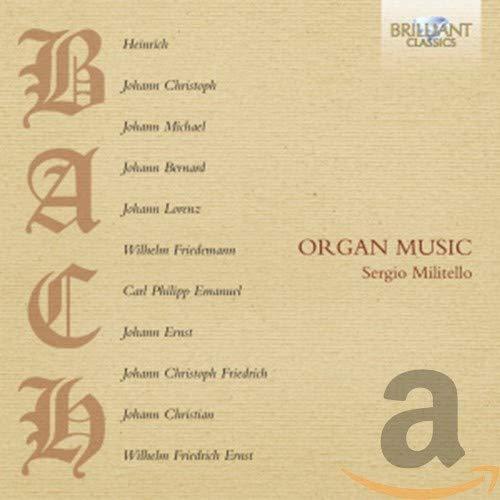 Bach und Söhne: Musik für Orgel