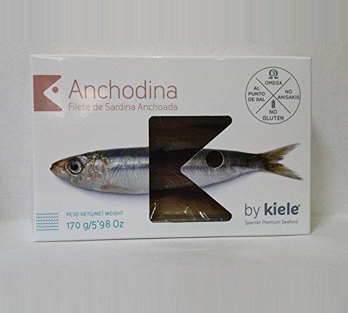 Anchodina. Sardina anchoada en salazón