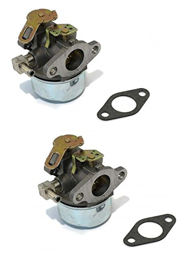 Fantastic Prices! The ROP Shop 2 CARBURETORS for Tecumseh 632107 632107A Toro 521 Small Engine Mower...