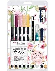 Tombow WCS-FL - Set de acuarela floral