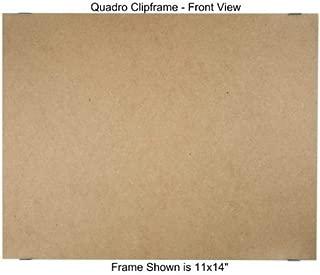 Quadro Clip Frame 11x14 inch Borderless Frame, Box of 6