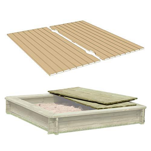 Gartenpirat -   Deckel aus Holz