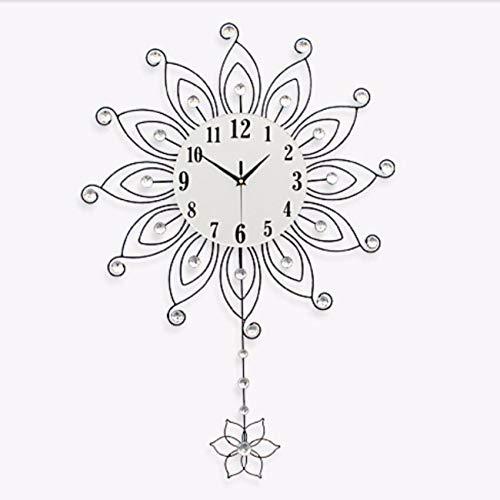Horloge Murale l'horloge De La Décoration Moderne Horloge À Quartz Chambre Horloge Calme Horloge À Quartz Il 20 Cm