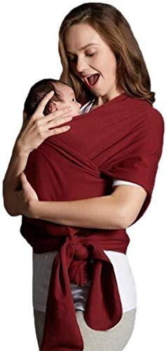 HZYD -Baby Porte-bébé standard Emballage bébé, Léger, respirant, élastique, sécurité, Convient for la naissance à 16 kg, plusieurs couleurs (Couleur: Bleu) (Couleur: Gris) (Couleur: Bleu), Couleur: Bl