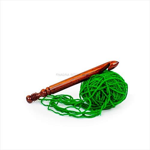 Rosewood Crafted Premium Polished Crochet Hooks 19mmNagina International