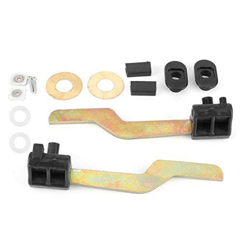 Autozubehör Vergaser Werkzeughaube Verriegelungshaken Reparaturwerkzeug links + Rechtsmotorteile 9198575 Fit für Opel Astra G Cabrio