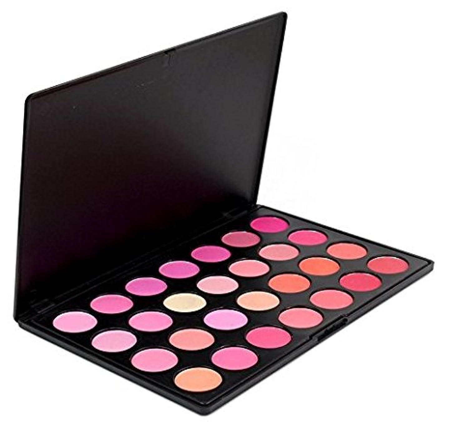 カポック動脈まともな(メイクアップエーシーシー) MakeupAcc プロ仕様28色チークカラーパレット チークメイク アイシャドウ コスメ 赤 ピンク オレンジ バラ色 肌色 [並行輸入品]