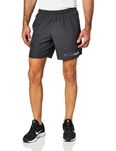 NIKE Pantalones Cortos para Hombre Air Chllgr 7 in BF, Hombre, BV4852, Gris, Small