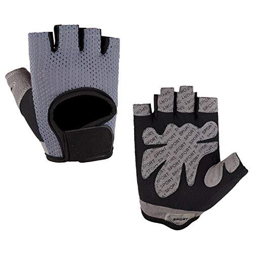 Kytpyi Kind Halb Finger Fahrradhandschuhe,1Paar Kinder Sport Handschuhe,Fingerlose Sporthandschuhe mit Handflächenschutzpolster Fahrradhandschuhe Halber Finger für Fahrrad Training Ruder Yoga