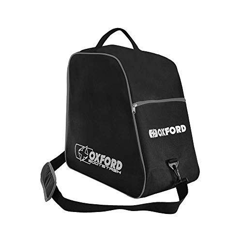 Motorcycle Oxford Bootstash Deluxe Boot Carrier - Black